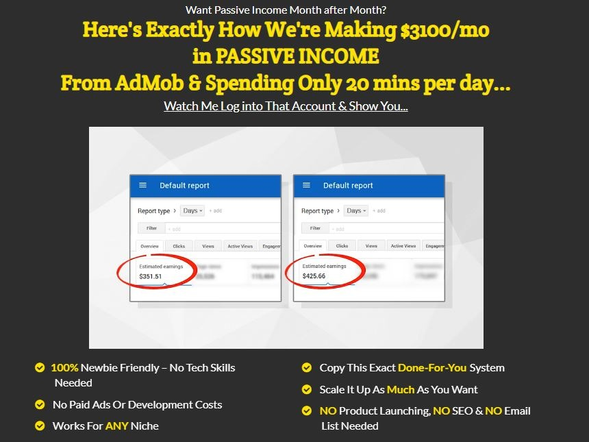 Admob Machine