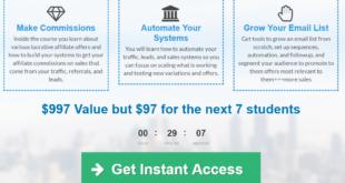 Affiliate Marketing for Entrepreneurs Academy Rachel S. Lee