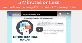 Offline Quiz Page Builder