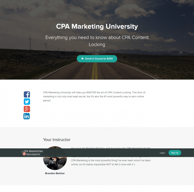 CPA Marketing University - Brandon Belcher Download