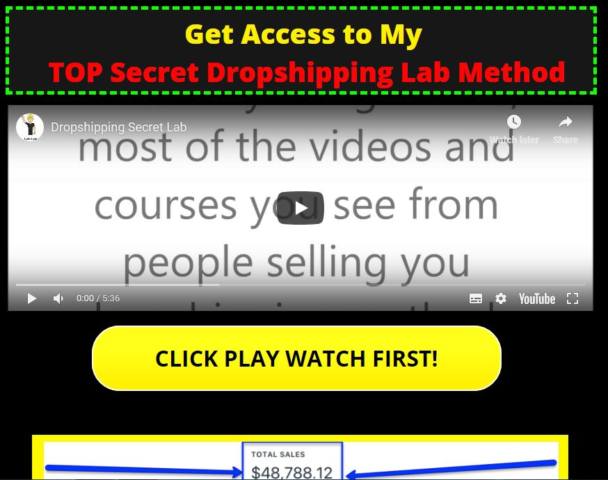 Dropshipping Secret Lab - Lyfe Lyte Download