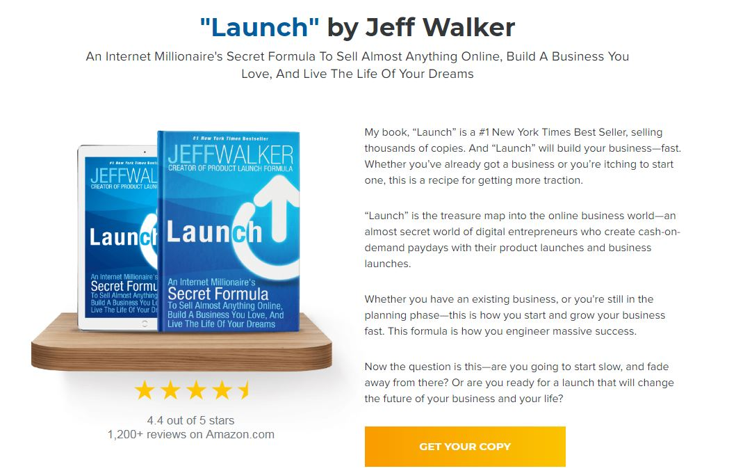 [GET] JEFF WALKER – PRODUCT LAUNCH FORMULA 2019 Download