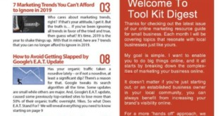 Tool Kit Digital Marketing Digest 2019