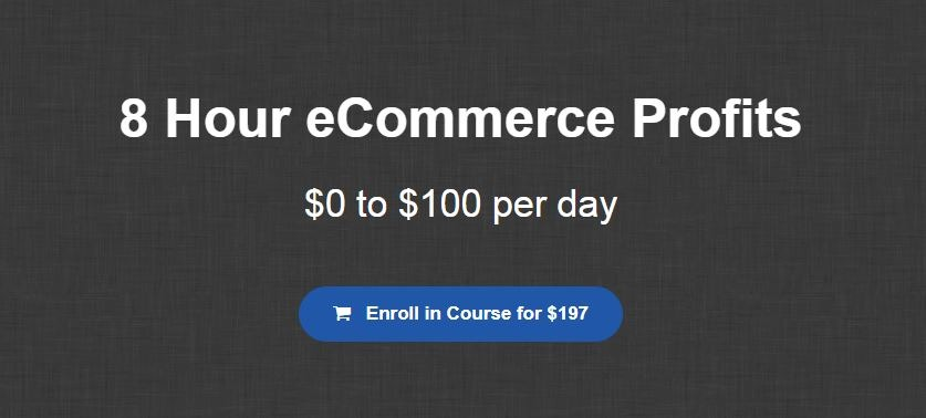 8 Hour eCommerce Profits