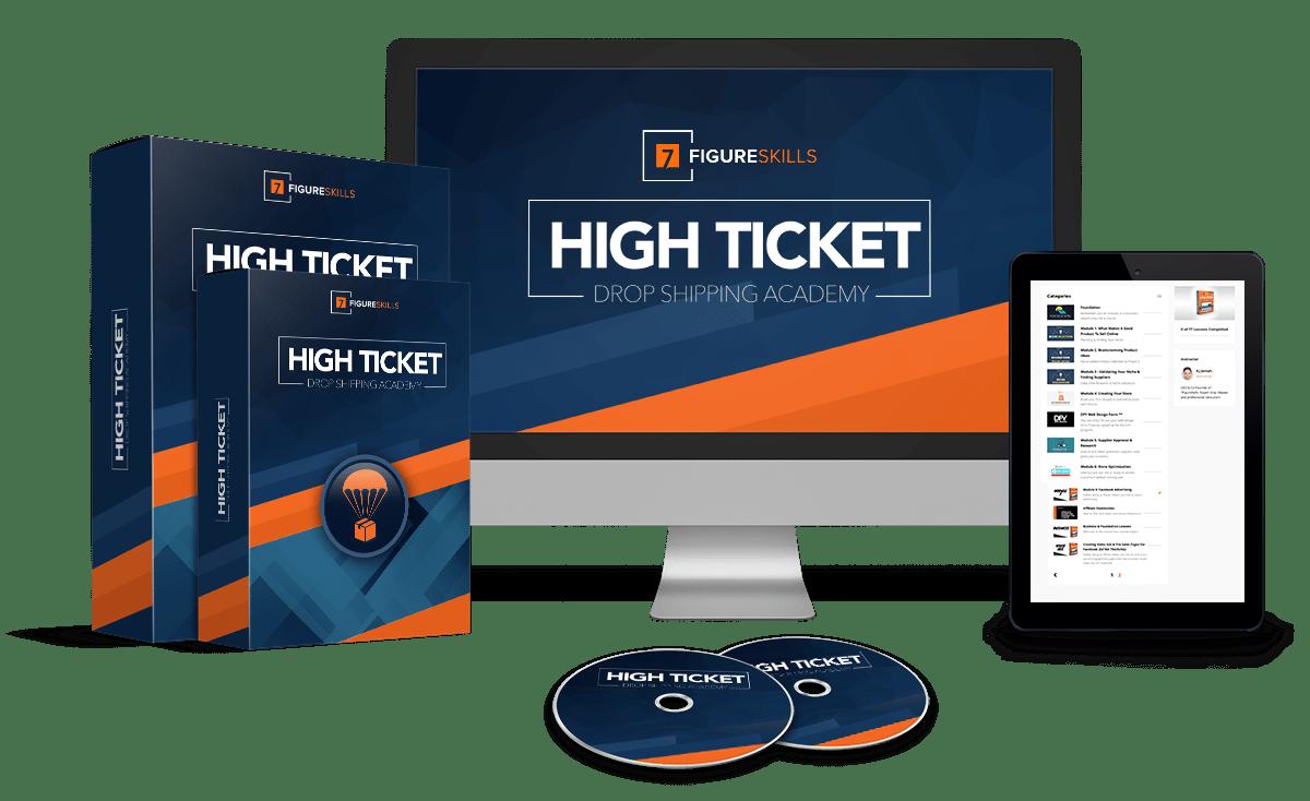 AJ Jomah – 7 Figure Skills – High Ticket Dropship Academy Download