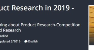 Amazon FBA - Product Research in 2019 - Advanced Tactics Download