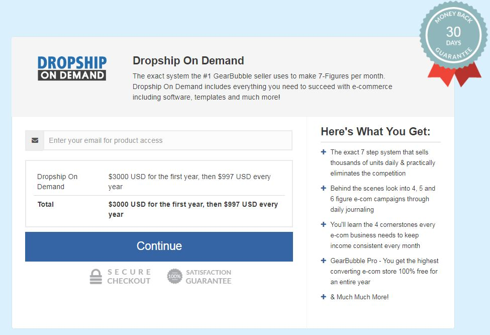 Don Wilson – Dropship On Demand Download