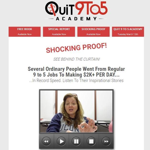 Quit 9 To 5 Academy - Bonus Download