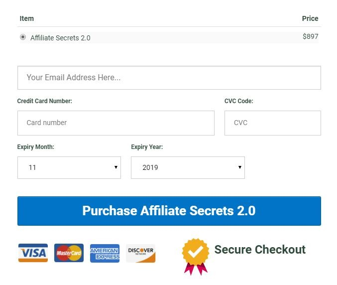 Spencer Mecham - Affiliate Secret 2.0 Download