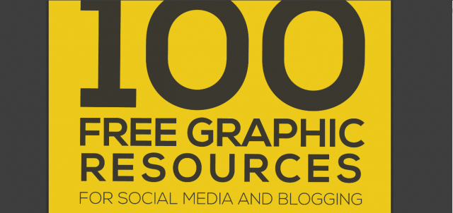 The Ultimate List Of 100 Free Graphic Design Resources