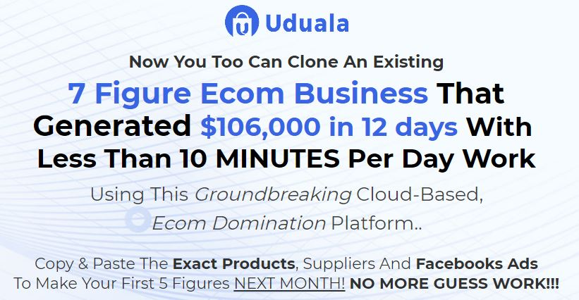 Uduala ECom Domination - Create Your Own Account Download