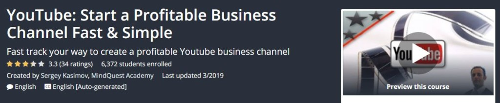 YouTube - Start a Profitable Business Channel Fast and Simple Download