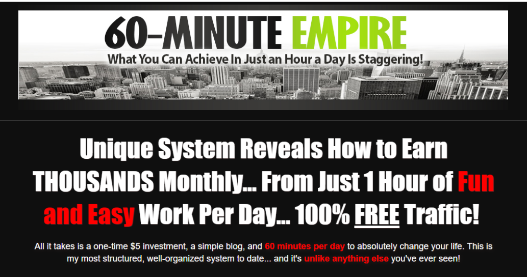60 Minute Empire - Lee Murray Download