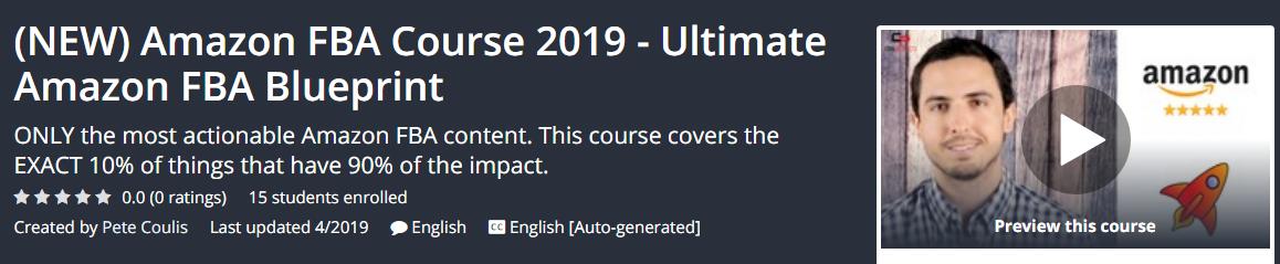 Amazon FBA Course 2019 - Ultimate Amazon FBA Blueprint Download