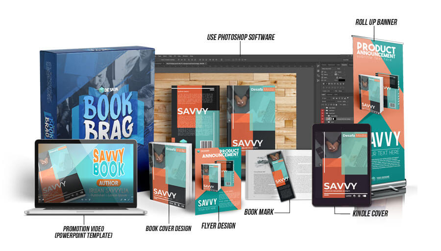 Book Brag Marketing Kits Download