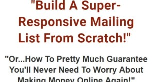 Build a Super Responsive List from Scratch by Tony Shepherd Download