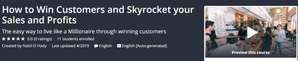 How to Win Customers and Skyrocket your Sales and Profits Download
