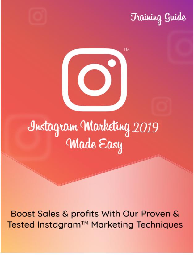 Instagram Marketing 2019 Download