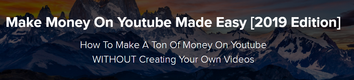 Jordan Mackey - Make Money On Youtube Made Easy 2019 Download