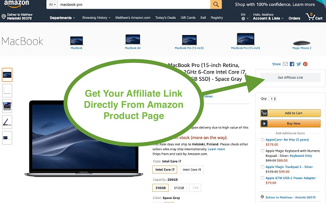 New Chrome Extension for Amazon Affiliates Download