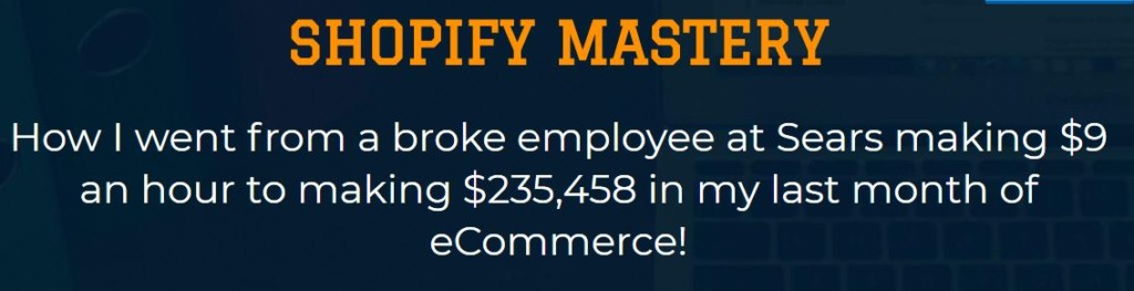 Shopify Mastery Download