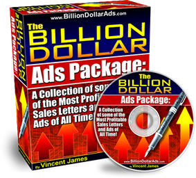 The Billion Dollar Ads Package by Vincent James Download