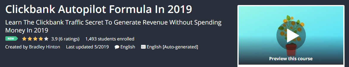 Clickbank Autopilot Formula In 2019 Download
