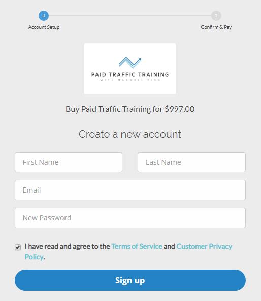 Maxwell Finn - Paid Traffic Training 2.0 Download