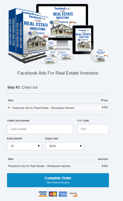 Wholesale Hackers – Facebook Ads for Real Estate Download