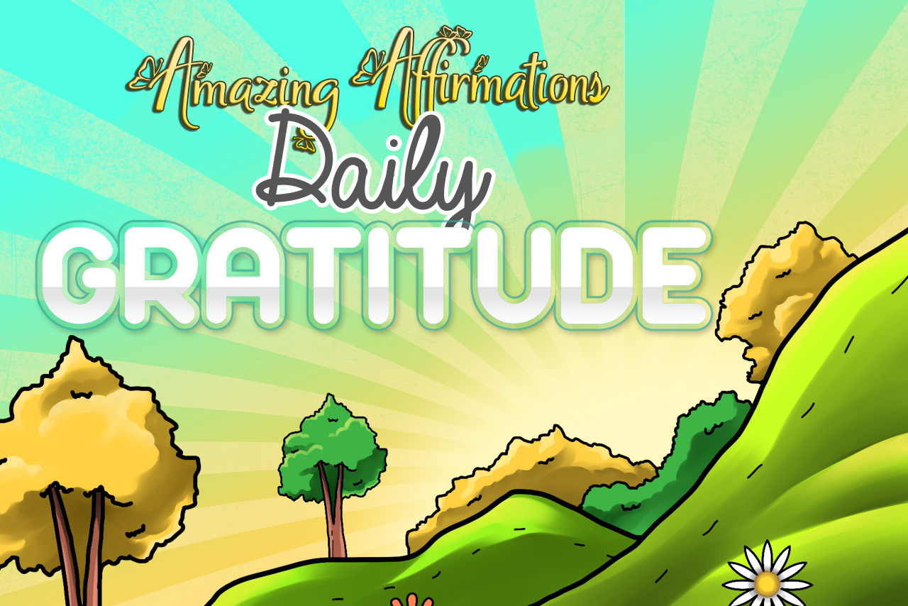 Amazing Affirmations – Daily Gratitude Coloring Pages Download