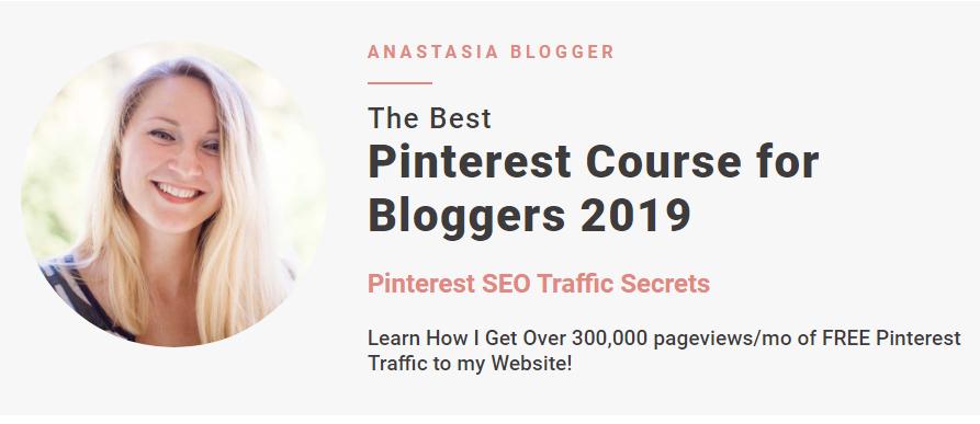 Anastasia – Pinterest SEO Traffic Secrets 2019 Download