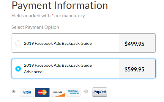 [SUPER HOT SHARE] Ben Adkins – 2019 Facebook Ads Backpack Guide Advanced Download