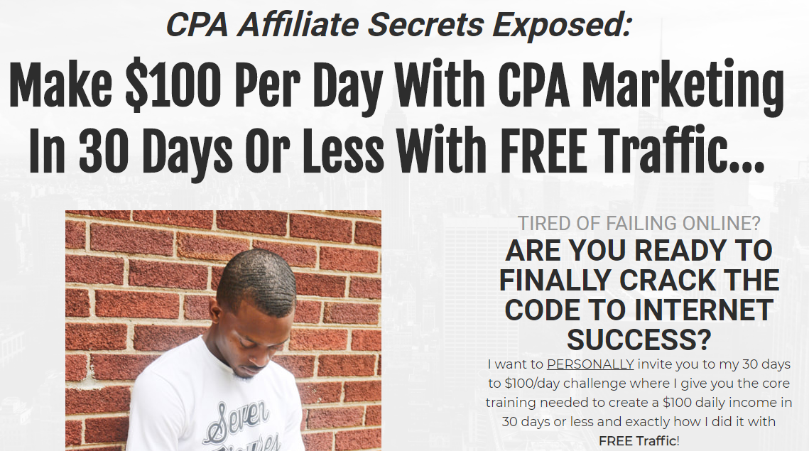 [SUPER HOT SHARE] CPA Affiliate Secrets Exposed Download