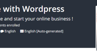 Create Professional eCommerce Website with Wordpress Download