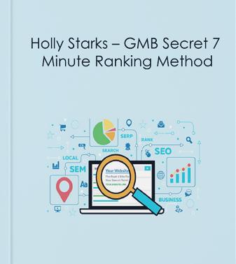 Holly Starks – GMB Secret 7 Minute Ranking Method Download