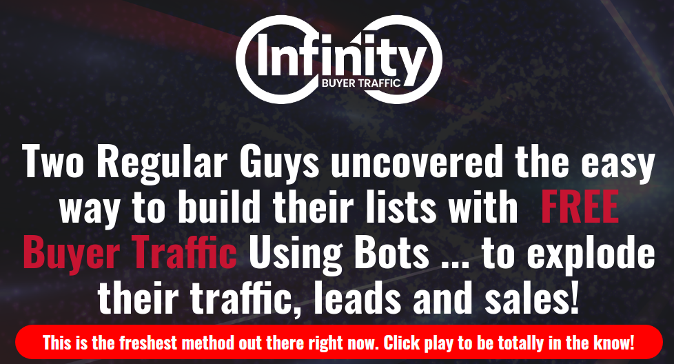 Infinity Buyer Traffic Download