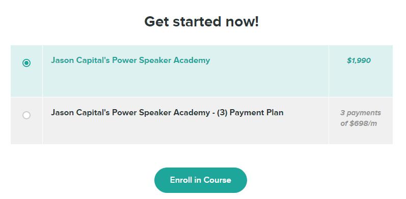 Jason Capital - Power Speaking Academy Download