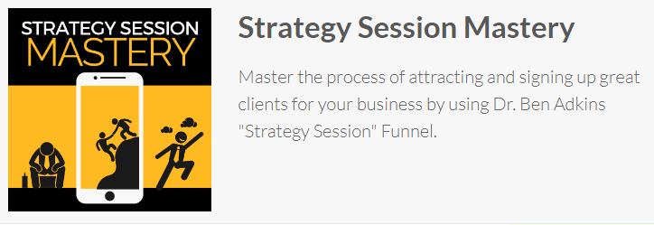 Ben Adkins - Strategy Session Mastery Download