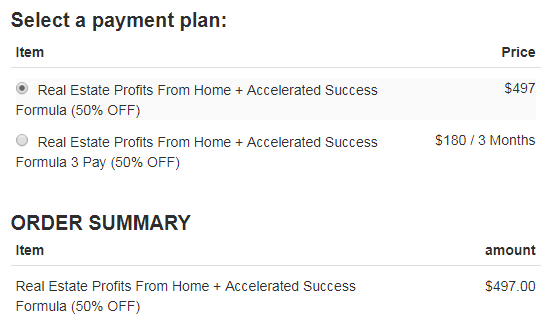 Dean Graziosi – Real Estate Profits From Home + Accelerated Success Formula Download