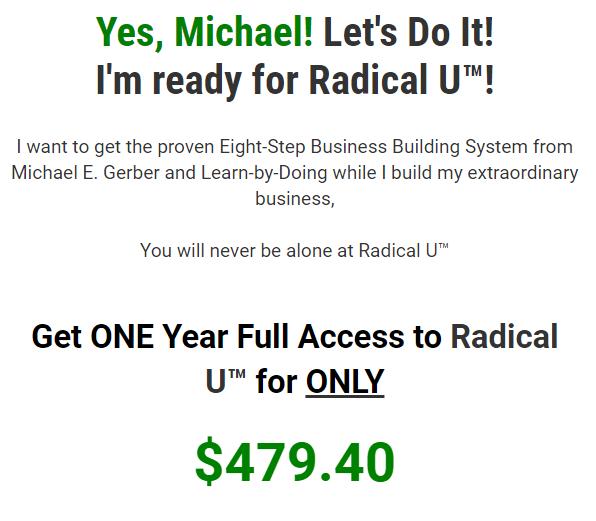 Michael E.Gerber – Radical U Download