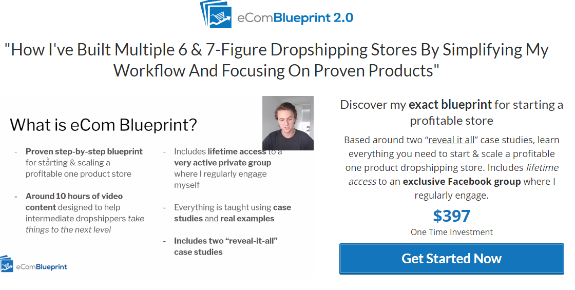 Gabriel St-Germain - Ecom BluePrint 2.0 Download