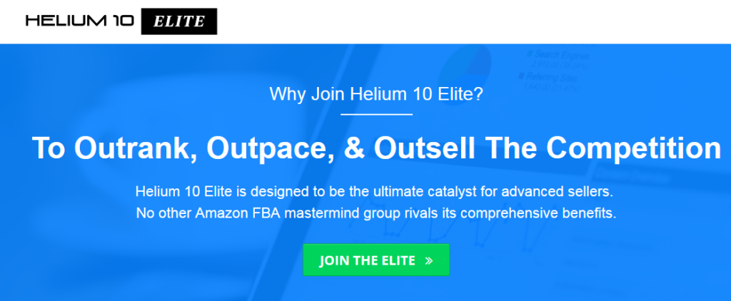 Helium 10 Elite – Amazon FBA Mastermind Download
