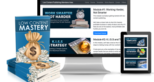 Low Content Publishing Mastery Download