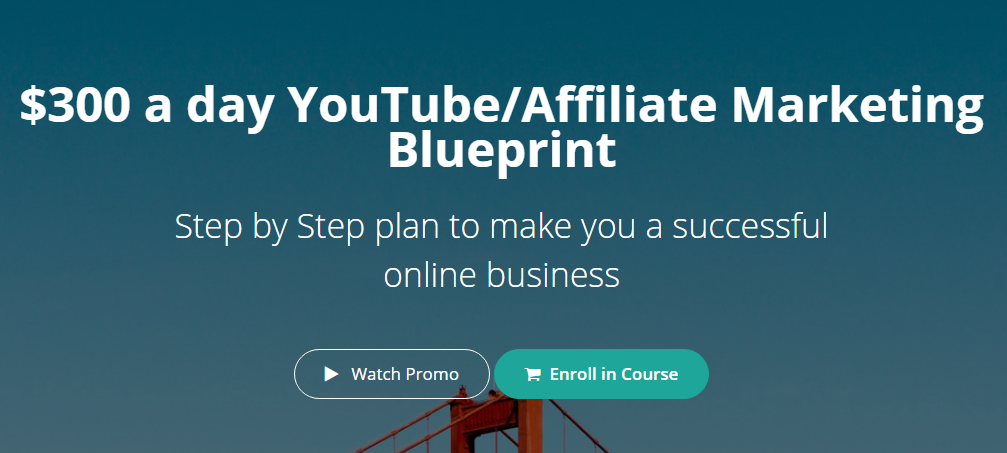 Hunter Edwards – $300 a day YouTube Affiliate Marketing Blueprint Download