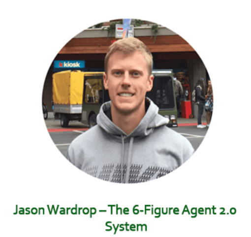 Jason Wardrop – The 6-Figure Agent 2.0 System Download