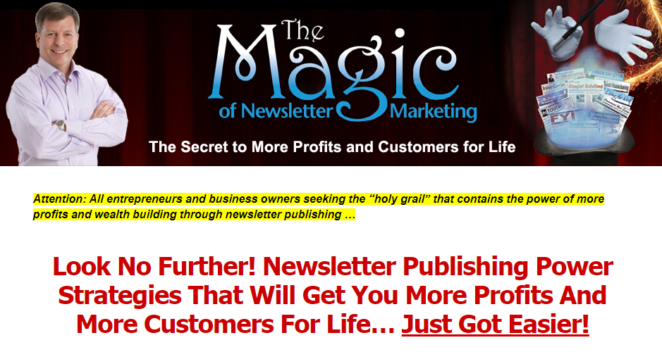 [GET] Newsletter Publishing Magic Download