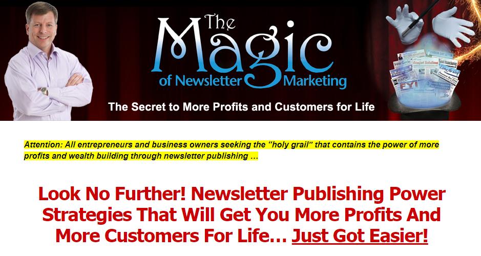 Newsletter Publishing Magic Download