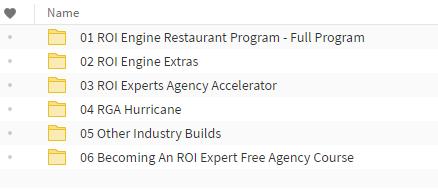 ROI Engine Course