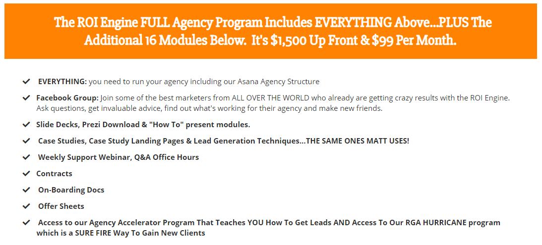 ROI Engine Full Agency Program Download