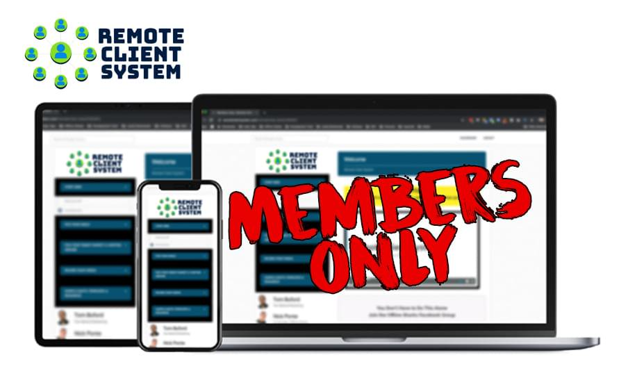Remote Client System Download